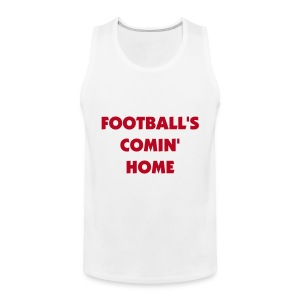 Football's comin home tank top - Men's Premium Tank Top