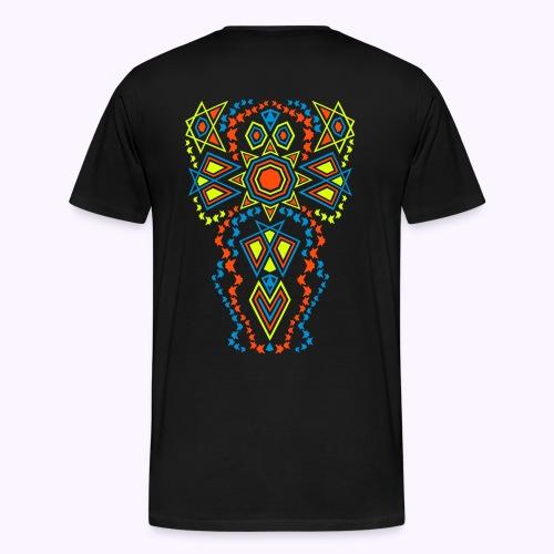 Tribal Sun - 2-side Men Premium S-5XL - Premium T-skjorte for menn