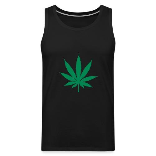 Cannabis Vest - Men's Premium Tank Top