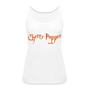 Cherry Popper women's boy beater - Women's Premium Tank Top