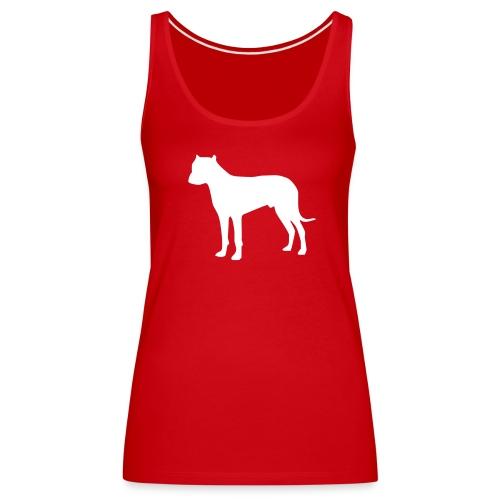 Silhouette Dogo - Débardeur Premium Femme