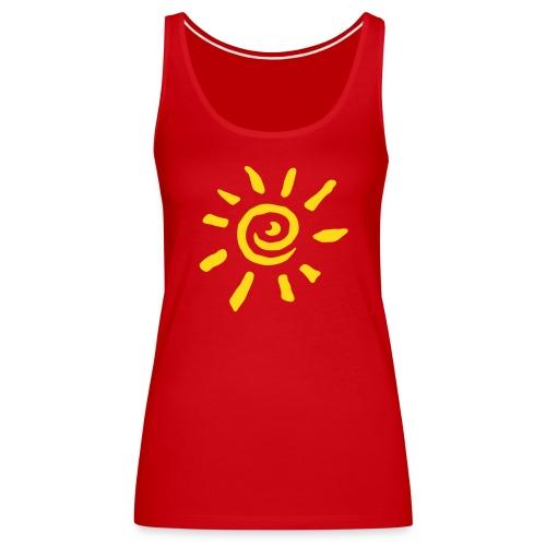 Sonne - Frauen Premium Tank Top