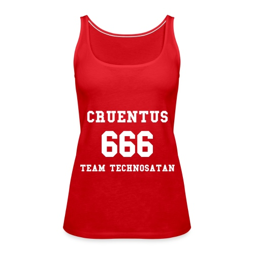 TEAM TECHNOSATAN CHICK - Tank top damski Premium