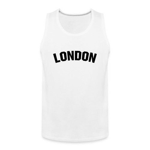 London vest top - Men's Premium Tank Top