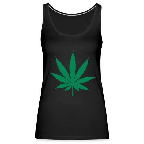cannabis - Camiseta de tirantes premium mujer