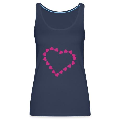 Corazon tirantes - Camiseta de tirantes premium mujer