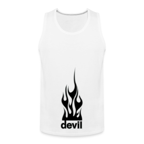 Flames from Hell - Men's Premium Tank Top