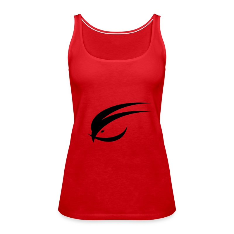 logo_bird_seperate - Women's Premium Tank Top