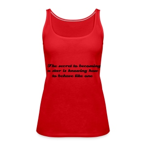 Velvet Goldmine - Women's Premium Tank Top