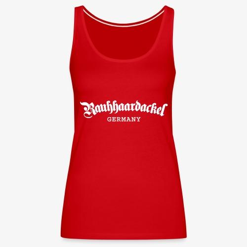 Rauhhaardackel Germany - Frauen Premium Tank Top