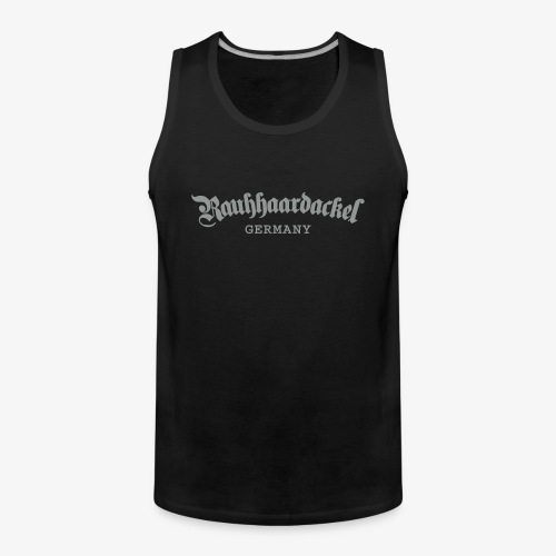 Rauhhaardackel Germany - Männer Premium Tank Top