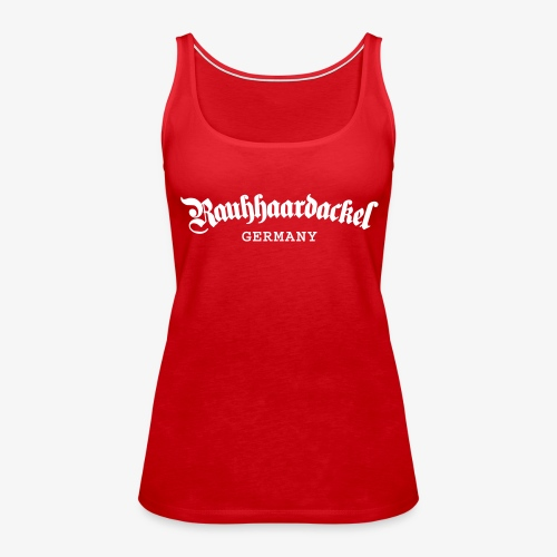 Rauhhaardackel Germany - Frauen Premium Tank Top