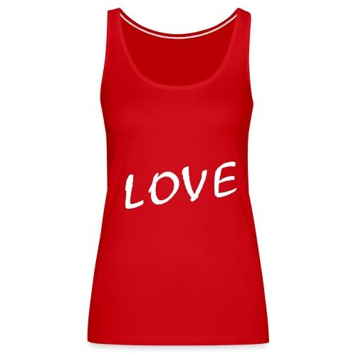 Red Love - Frauen Premium Tank Top