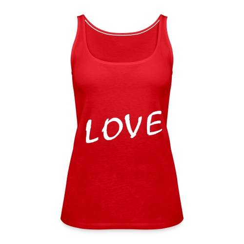Red Love - Frauen Premium Tank Top