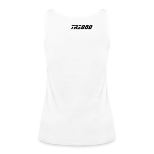 Street-Shirt (white-black) - Frauen Premium Tank Top
