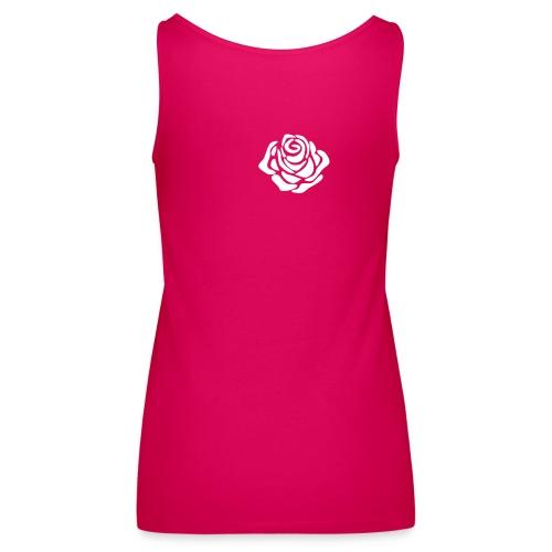 fading rose - Camiseta de tirantes premium mujer