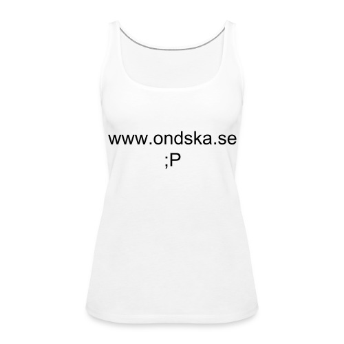 Ondskan t-shirt - Women's Premium Tank Top