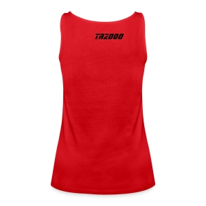 Street-Shirt (red-black) - Frauen Premium Tank Top