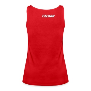 Street-Shirt (red-white) - Frauen Premium Tank Top