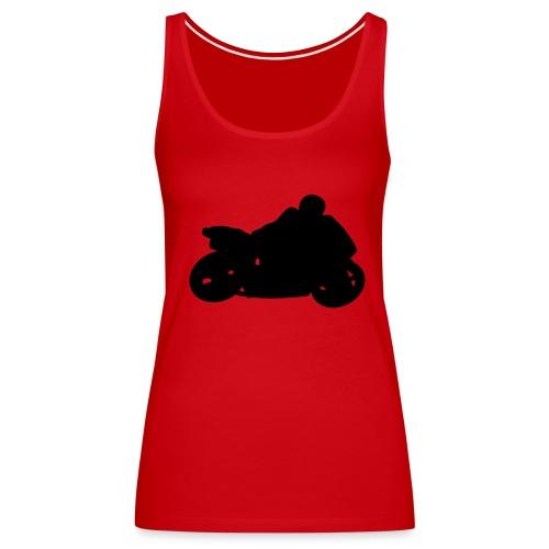 Red ladies SUMCC top - Women's Premium Tank Top