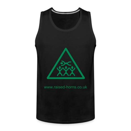 Mens tanktop 'surfing' - Men's Premium Tank Top