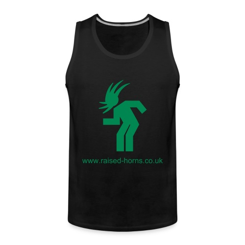 Mens tanktop 'headbsnging' - Men's Premium Tank Top