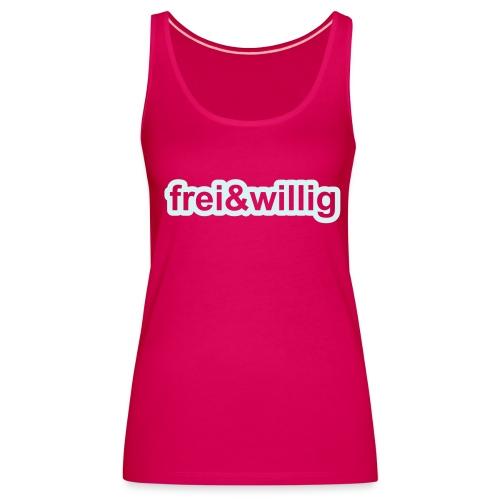 frei&willig - Frauen Premium Tank Top