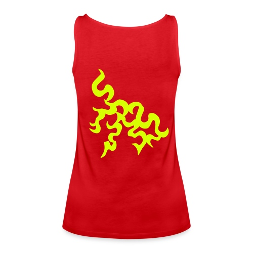 sexy tribel hemd - Vrouwen Premium tank top