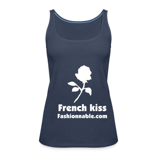 FRENCH KISS (Woman) - Women's Premium Tank Top