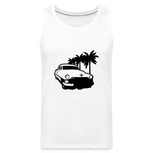 palmy i fura - Tank top męski Premium