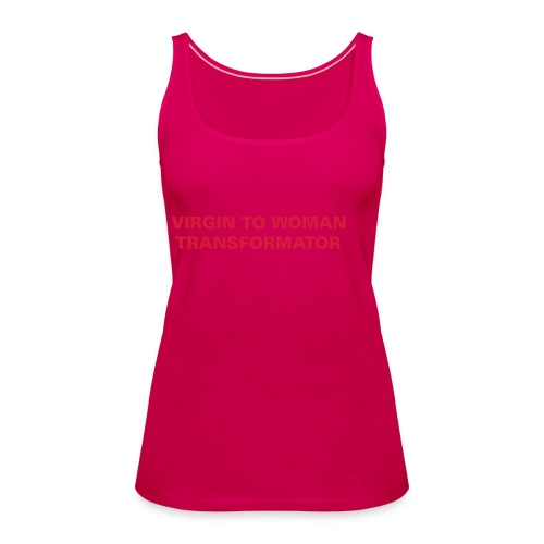 virgin_to_woman - Women's Premium Tank Top