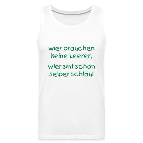 Ihr ganz persöhnliches ABI-Shirt - Männer Premium Tank Top