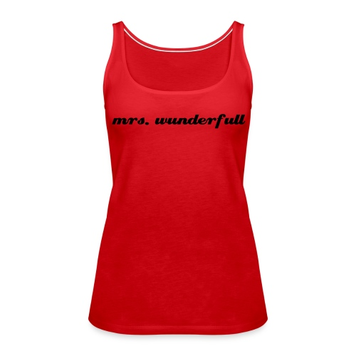 Frauen Premium Tank Top - ylvis womenlikely show
