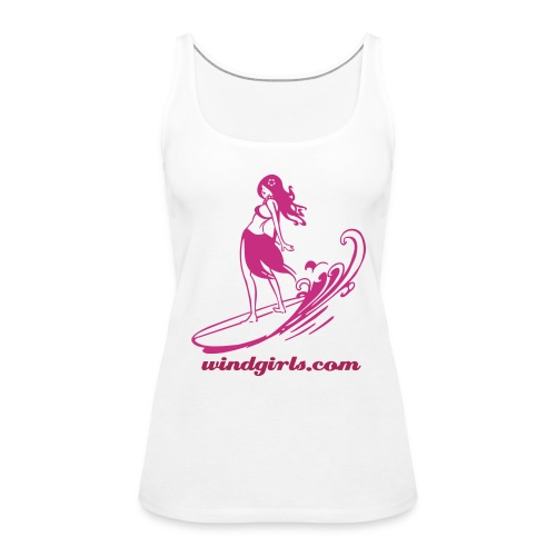 Surfer Girl - Women's Premium Tank Top