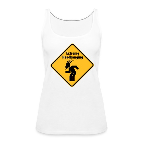 Top Headbanging - Women's Premium Tank Top