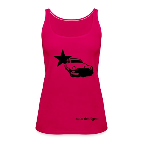 Retro Tank - Women's Premium Tank Top