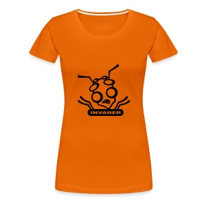Orange Invider - Frauen Premium T-Shirt