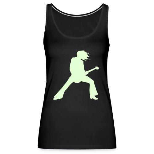 T-shirt Rock phosphorescent - Débardeur Premium Femme