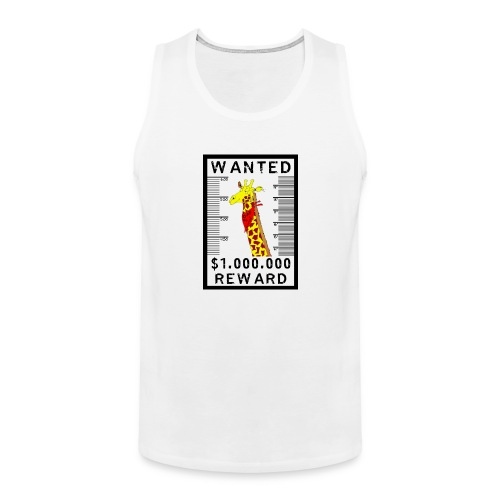 WANTED: Daf de Giraf *SUPERPRIZE!* - Men's Premium Tank Top