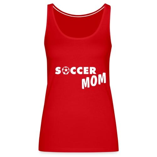 SoccerMum - Women's Premium Tank Top