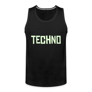 Techno Black - Männer Premium Tank Top