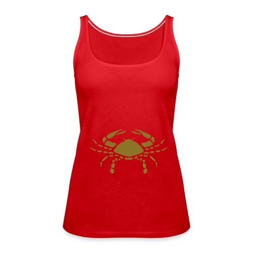 Red Cancer - Women's Premium Tank Top