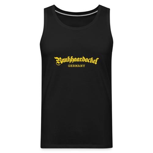 Rauhhaardackel Germany - Männer Premium Tank Top