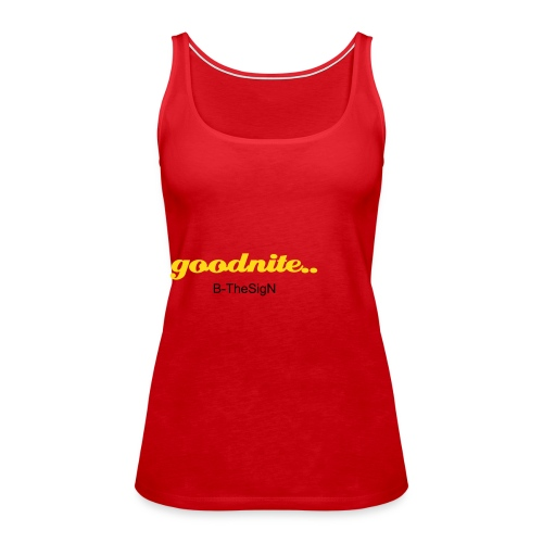 Nightie Top - Premiumtanktopp dam
