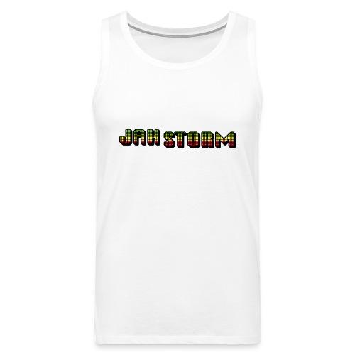 Jah Storm official shirt - Men's Premium Tank Top
