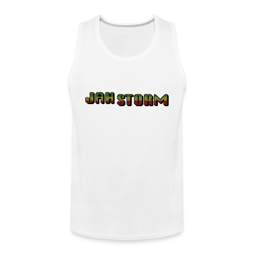 Jah Storm official shirt - Men's Premium Tank Top