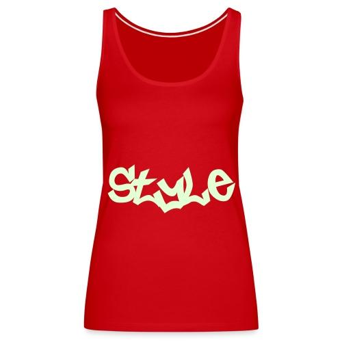 Style Girl top - Vrouwen Premium tank top