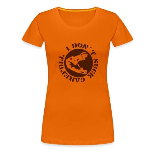 mix-masters ladies top with rude logo - Women's Premium T-Shirt