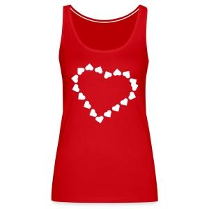 Valentijn - Vrouwen Premium tank top
