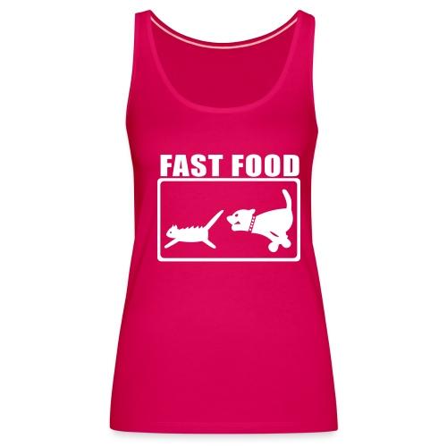 FAST FOOD - Camiseta de tirantes premium mujer